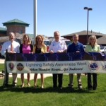 2013 Lightning Safety Awareness Week kick-off with South Metro Fire Rescue and partners.